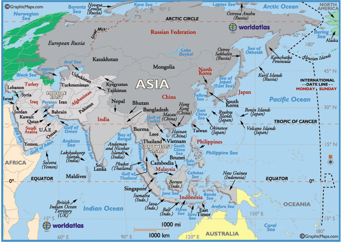Monsoon Asia covers South